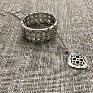 Brighton matching bangle and necklace.